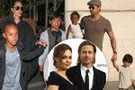 Tajná schůzka Brada a Angeliny! Tříhodinová vyhrocená hádka o děti