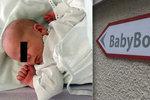 Do babyboxu odložili Tonyho: Kombinéza, růžová čepice a zlatý dukát!