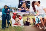 Valentýn v šoubyznysu: Jak slavila Patrasová, Farna nebo Bílá?