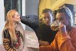 Rande s lachtanem i pivo s Miley Cyrus! České VIPky si týden pořádně užily