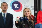 Kdo s blonďatou Ditou? ANO ještě nemá kompletní kandidátku pro eurovolby, čeká na Babiše