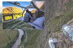 Hotel jen pro odvážné: Skleněná kapsle 400 metrů nad zemí!