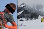 Čecha Simona (†27) v Alpách smetla lavina! Zabila ho jeho vášeň!
