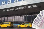 Šedesát tisíc za parkování! Na pražském letišti čekal na řidiče bizarní vzkaz, podle Letiště je to jinak
