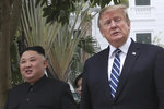 Vím, co se děje s Kimem, prozradil Trump. A zmínil placení Číny za pandemii koronaviru