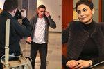 Erbová se zchudlým Řepkou u soudu: Provokovala šperky za desítky tisíc a kožichem!
