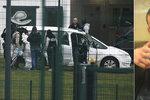 Policie zastřelila těhotnou manželku radikála: Zabarikádovali se ve vězení, pobodali bachaře