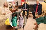 """Babišová se do Bílého domu """"vyfikla"""" za 170 tisíc korun. Trumfla cenou i Melanii"""