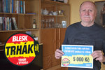 Miroslav Beneš (73) z Opavy uspěl v Trháku Blesku: Pět tisíc jako dárek