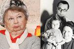 Smutné dětství Aťky Janouškové (†88): Otec zemřel v koncentračním táboře