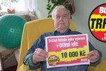 Michalu Horňakovi (88) pomůže výhra v Trháku vylepšit zdraví: 10 tisíc na operaci očí!