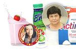 Obaly jogurtových nápojů pod lupou: Slibují neexistující »mléčné minerály«, povinné údaje zamlčují!