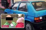 Michalovi ukradli auto. Vážně nemocnou dceru teď nemá jak vozit do nemocnice