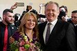Slovensku bude vládnout žena. Zuzana Čaputová porazila v prezidentském klání Šefčoviče
