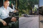 Řidič pražské MHD Aleš (45): Při smyku na motorce přišel o nohu, na šoférování nezanevřel