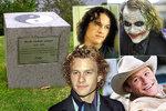 Heath Ledger (†28) by oslavil 40! Co znamenají tajemné znaky na jeho hrobě?