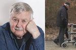 Rakovinu chtěl utajit?! »Poldovi« Ladislavu Potměšilovi museli lékaři odoperovat....