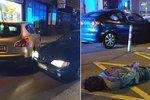Nebezpečná honička centrem Prahy! Zfetovaný řidič se chytil sám, vjel do jednosměrky ze špatné strany