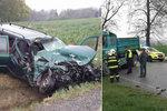 Řidič Volkswagenu přejel do protisměru a narazil do Tatry: Tragédii nepřežil on, ani malý chlapec!