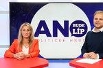 Vysílali jsme: Navýší ANO počet křesel v Bruselu? Uspěje Babišova lídryně Charanzová?