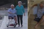 Důchodci bez končetin zabavili na letišti baterie do vozítka: Musel se plazit po zemi