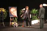 Pohřeb Jaroslava Kepky (†83): Kolegové nezapomněli, přesto divadlo zelo prázdnotou