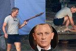Protřepat, vykuchat! První záběry z nového filmu o Jamesi Bondovi