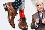 Na den lichých ponožek si můžete vzít každou jinou. Špaček zmínil barevnou naději