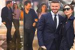 Výjimečně usměvavá Victoria Beckhamová se tulila k neznámému muži! Co na to David?