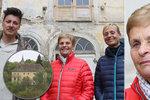 """Do zámku Stropnického se vrátila bývalá majitelka: """"Matěj se tu zamiloval"""""""