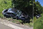 Matka dvou dětí přišla o život: Monika (†38) nasedla po hádce za volant a nezvládla zatáčku!