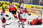Češi převálcovali Rakousko na MS v hokeji! Soupeři nastříleli 8 branek