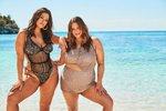Plus size modelka Ashley Grahamová předvedla těžkotonážní sestru! Společně fotí plavky