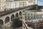 Rekonstrukce Negrelliho viaduktu je za půlkou, hotovo má být za rok. Stavaři našli zachovalou celnici
