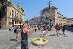 Tropy v Praze budou pokračovat: Rozpálené ulice zchladí pouze bouřky