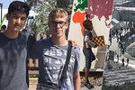 Pražský gymnazista Maxmilián (18) v uprchlickém táboře v Řecku: Jaké pocity měl mezi utečenci?