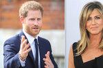 Meghan, víš o tom? Princ Harry tajně uháněl Rachel z Přátel!