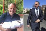 """Kiskova dcera porodila. Exprezident se raduje z vnučky po založení nové strany """"Za lidi"""""""