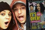 Miláčku, prý se rozcházíme, baví se Mila Kunisová s Ashtonem Kutcherem