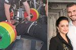 Nabušený milenec Lucie Bílé: Díky svalům jede na mistrovství světa!