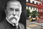 Na prezidenta se nešplhá, i když to autor dovolil: Centru Brna vévodí červený Masaryk