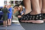 """V botičkách od Diora: Havlová vyrazila na kolonádu v """"papučkách"""" za 22 tisíc!"""