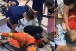 Horor v obchoďáku: Chlapečkovi (2) se zasekla ruka v eskalátoru!