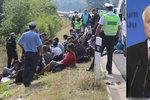 Kvůli pomoci s migranty šil německý ministr do Česka. Zpřísní Němci režim na hranicích?