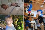 Terezka (16) neměla žít: Lékařům vytřela zrak, na speciální kolo ale mamince nezbývá