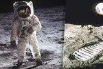 Astronauti po sobě na Měsíci nechali skládku: Válí se tu boty, golfové míčky i pytle s fekáliemi!