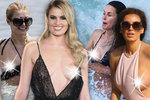 Neposedná kůzlátka! Tyhle celebrity nehlídaly svá ňadra! VELKÁ galerie