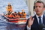 Na přerozdělování migrantů se shodlo 14 zemí EU, hlásí Macron. Kvóty Češi dál odmítají