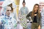 Radka (22) z Prahy uhranula Anglii svou ekologickou módní kolekcí. Spotřebovala na ni tři tisíce PET lahví!