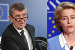 Babiš letí do Bruselu za šéfkou EU. Jourová je favoritem, problémem audity?